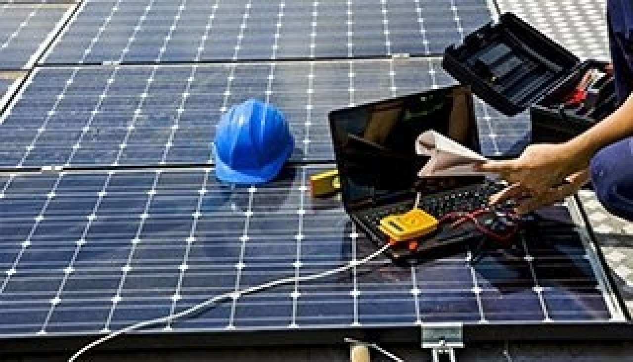 Step by step solar installation process