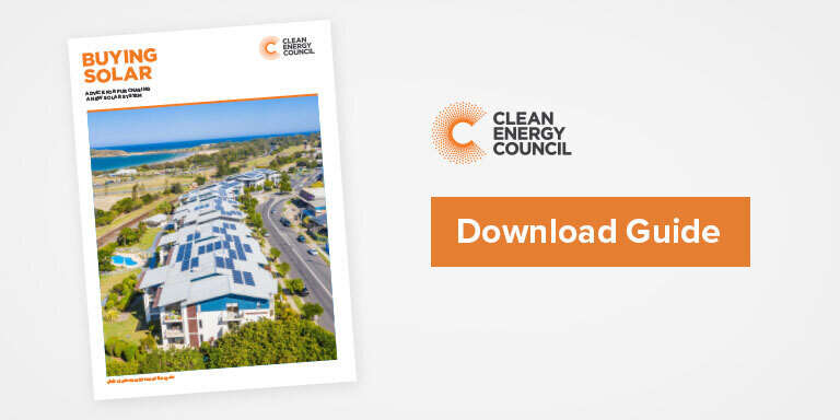 CEC guide to buying residential solar