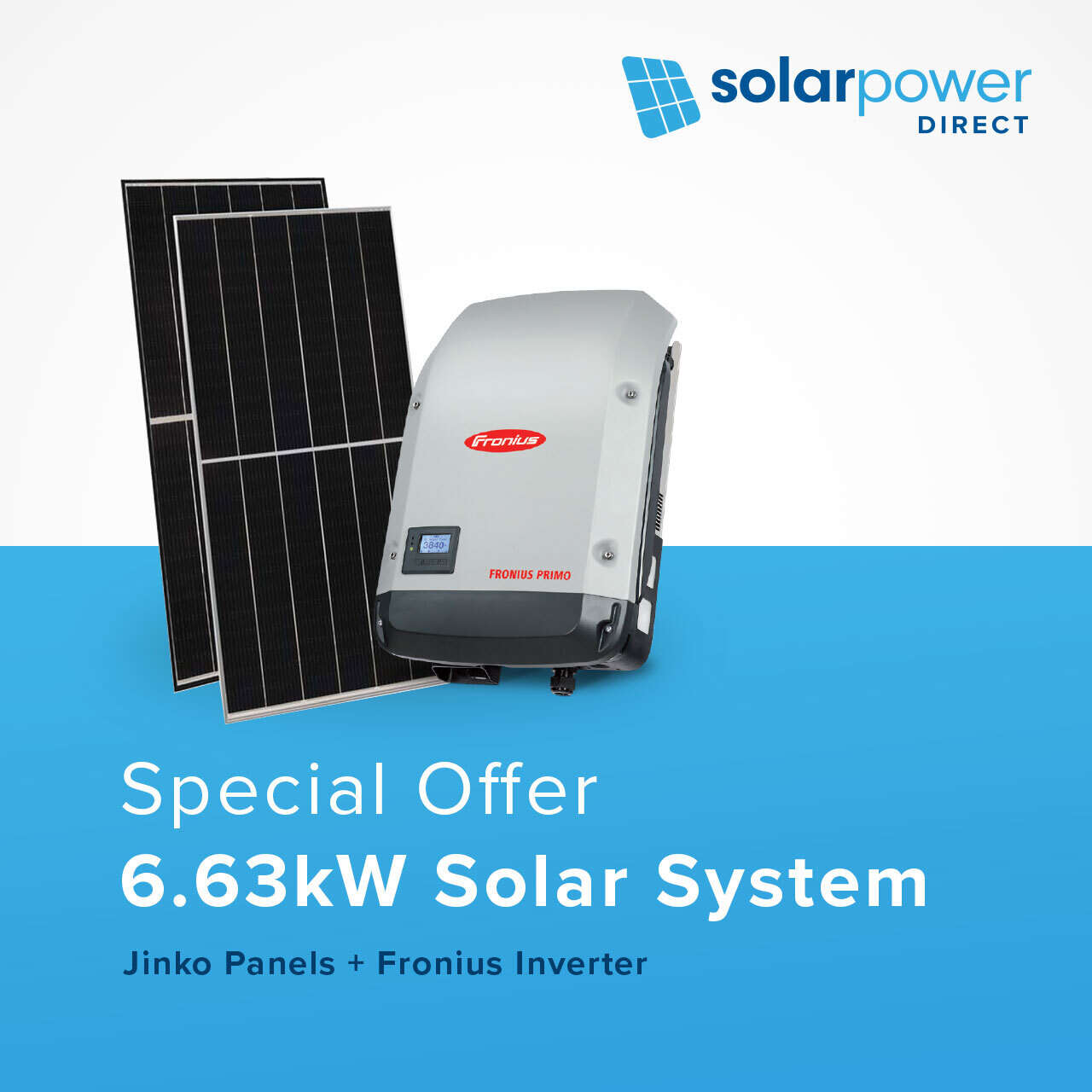 6.63kW Solar System for $4,690