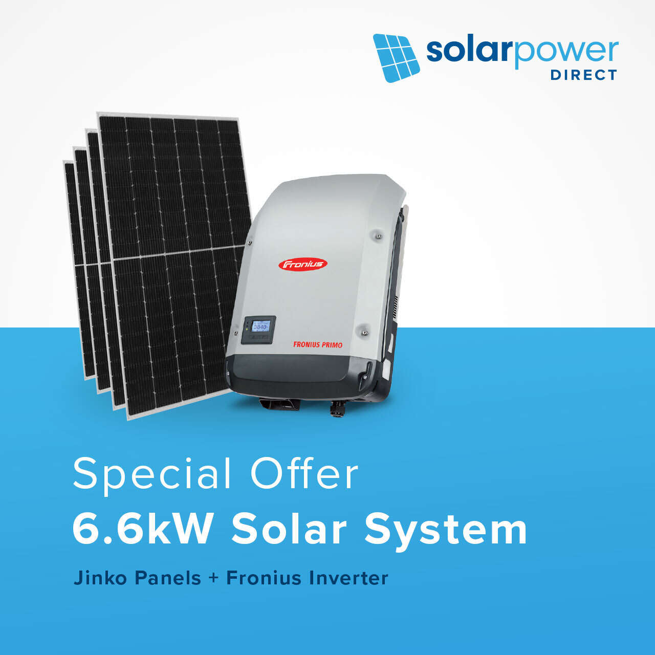 6.6kW Solar System for $3,990