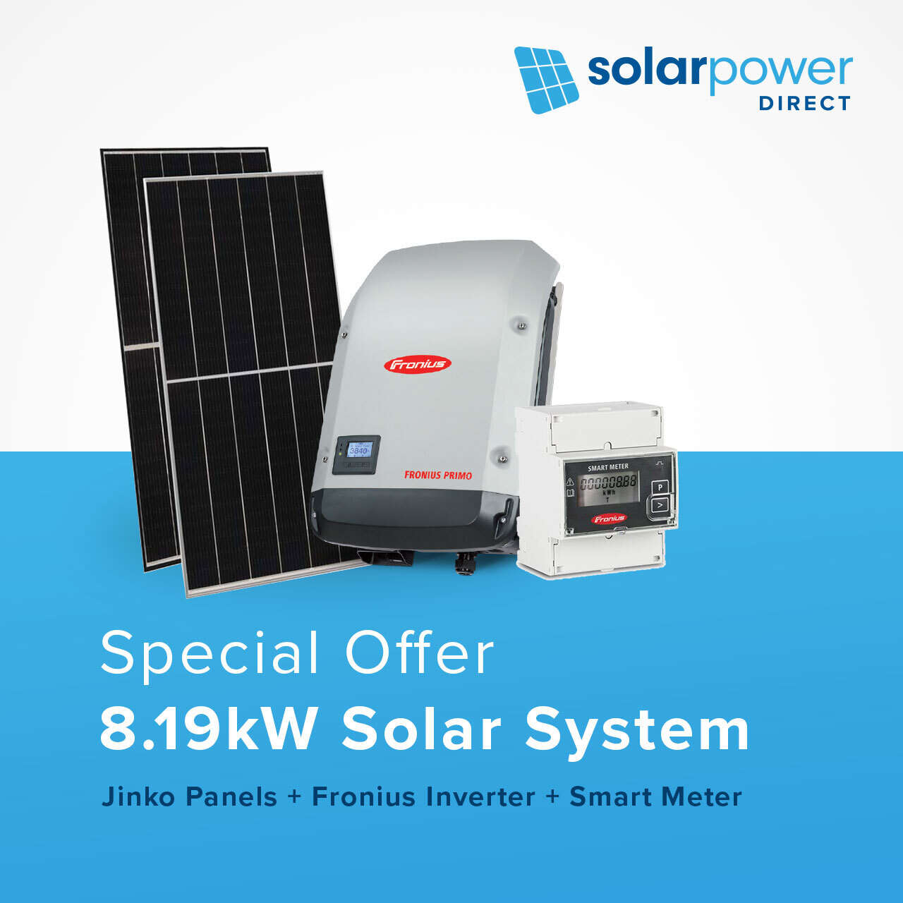 8.19kW Solar System for $6,199