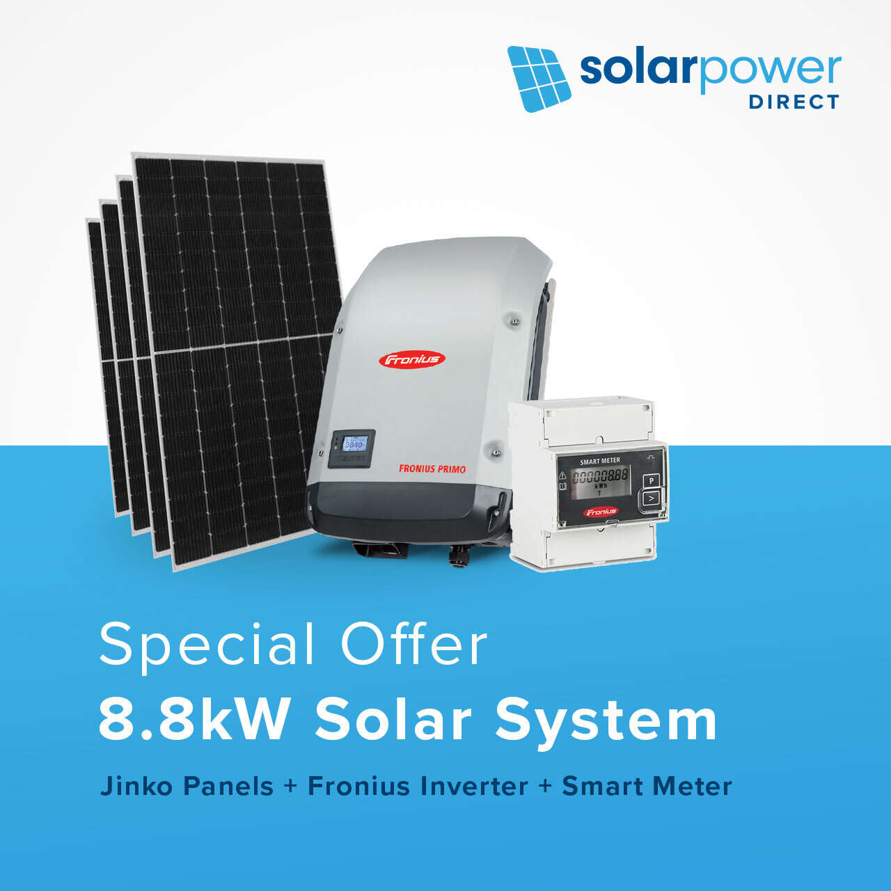 8.8kW Solar System for $5,490