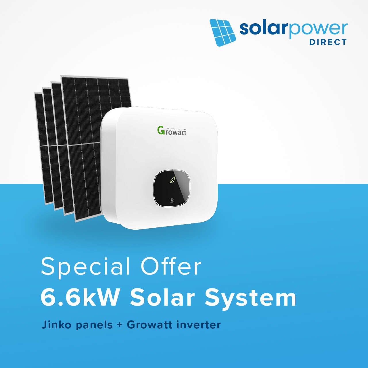 6.6kW Solar System for $3990