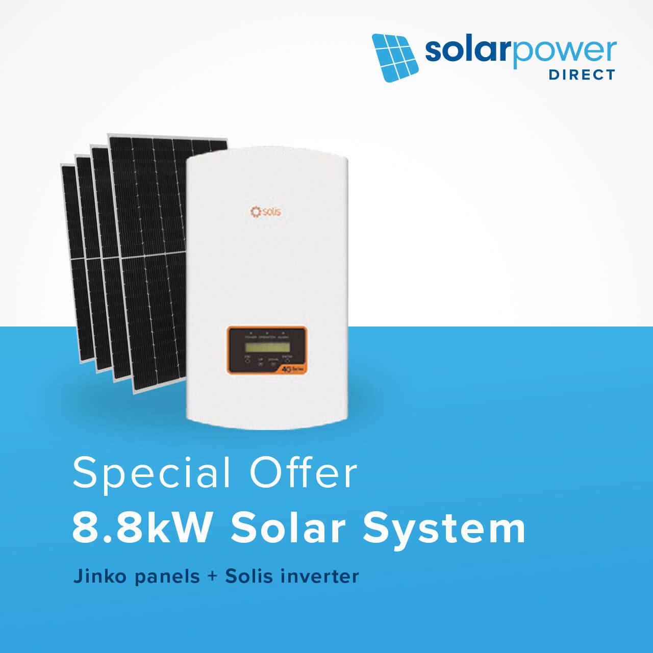 8.8kW Solar System for $17 per week
