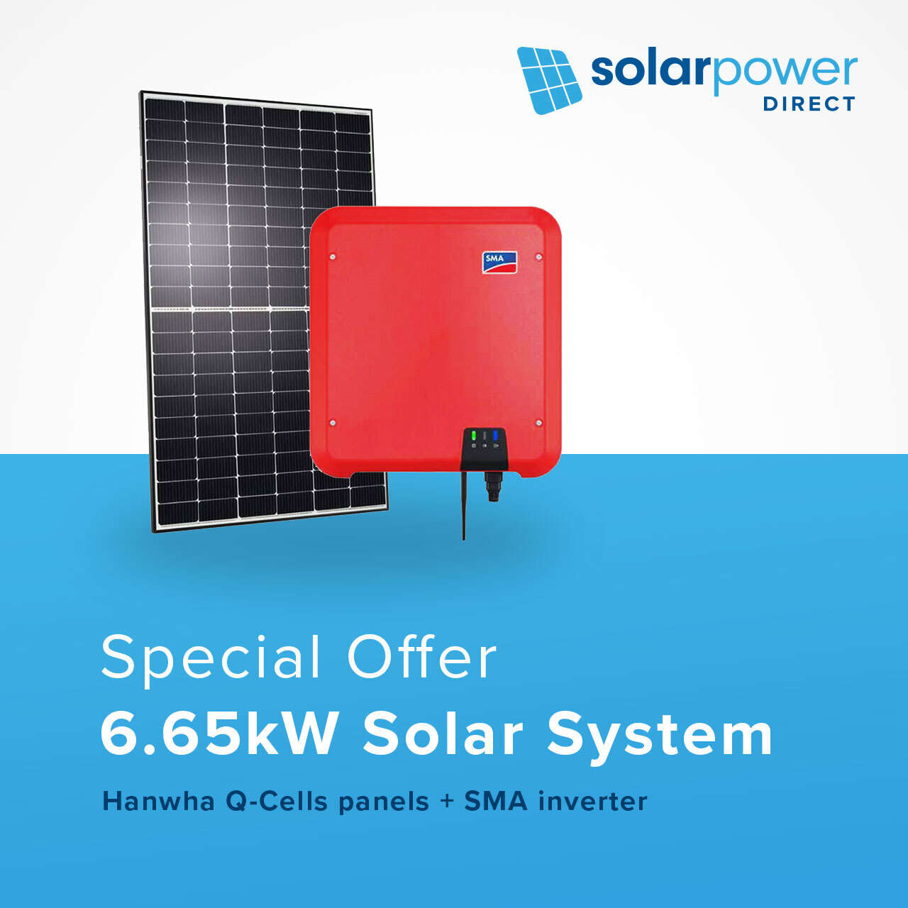 6.65kW solar system for just $5,299